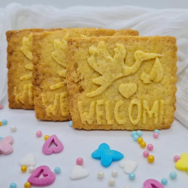 Welcome Geburt Kekse