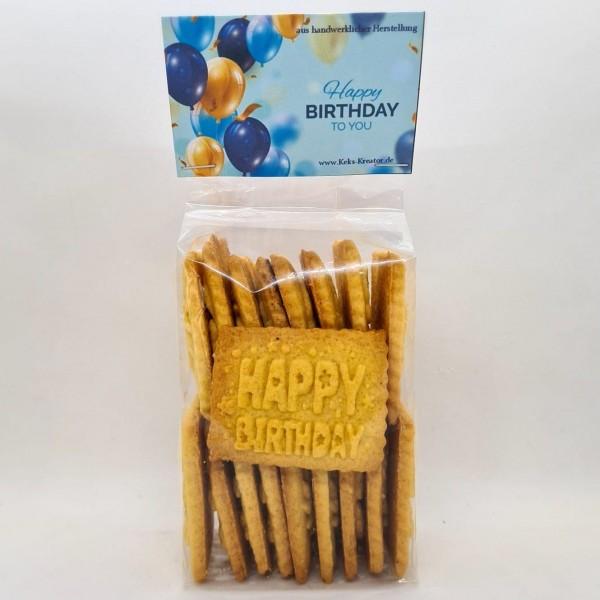 Happy Birthday (Butter Vanille)